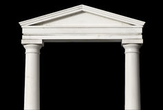 Ancient Greek temple detail Stock Photos