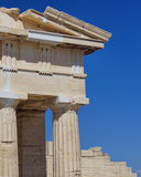 Ancient Greek temple detail Royalty Free Stock Photography