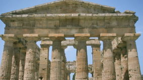 Ancient Greek Temple HDR stock footage