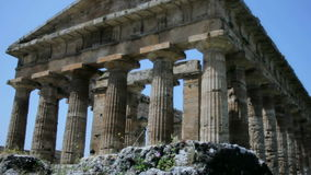 Ancient Greek Temple stock footage
