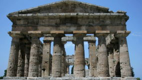 Ancient Greek Temple stock video