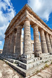 Ancient greek temple of Segesta, Sicily Stock Photography