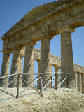 Ancient Greek temple of Venus Royalty Free Stock Photos