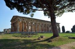 Ancient Greek temples Stock Photos
