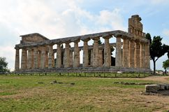Ancient Greek temples Royalty Free Stock Photo