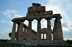 Ancient Greek temples Stock Photo