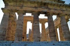 Ancient Greek temples Stock Photography