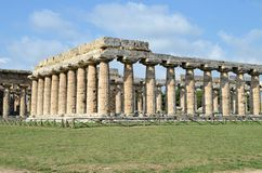 Ancient Greek temples Stock Image