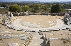 Ancient Greek theater Stock Photo