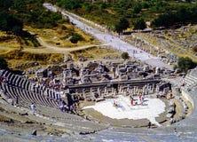 Greek theater in Ephesus, Turkey Royalty Free Stock Photo