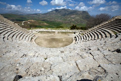 Ancient Greek theatre stock images