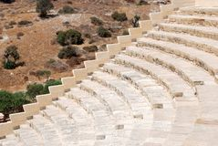 Ancient Greek theatre Stock Photography
