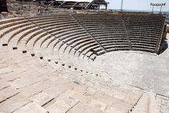 Ancient Greek theatre Royalty Free Stock Photography