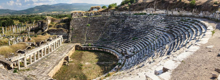 Ancient Greek theatre Royalty Free Stock Photo