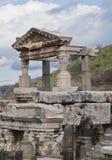 Ancient greek town of Ephesus in Turkey Royalty Free Stock Image