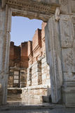 Ancient greek town of Ephesus in Turkey Stock Photos
