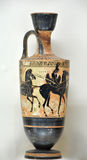 Ancient Greek Vase Royalty Free Stock Photography