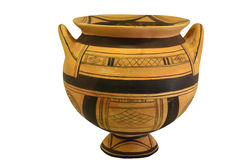 Ancient Greek Vase Stock Images
