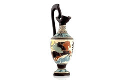 Ancient Greek vase royalty free stock image