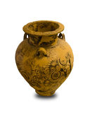 Ancient Greek Vase Isolated Stock Image