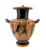 Ancient Greek Vessel Royalty Free Stock Images