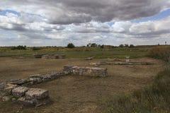 Ancient Greek village ruins of ancient Olbia northern coast of the Black Sea. Ukraine stock photos