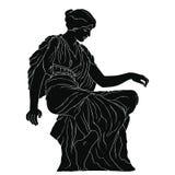 Ancient Greek woman. royalty free stock photos