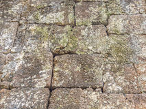 Ancient grids rock pattern and texture Royalty Free Stock Image