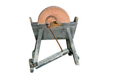 Ancient grindstone Royalty Free Stock Photos