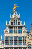 Ancient guild house in Antwerp center, Belgium Royalty Free Stock Images