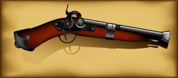 Ancient gun Stock Image