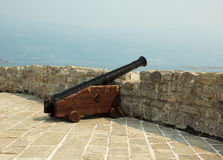 Ancient gun. Royalty Free Stock Photography