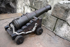 Ancient gun Royalty Free Stock Images