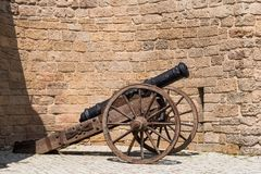 Ancient gun Stock Photo