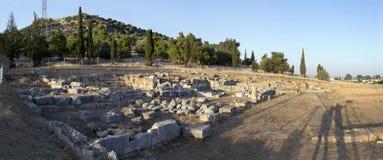 Ancient gymnasium of Eretria Greece Stock Image