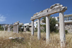 Ancient gymnasium at Kos island in Greece Stock Images