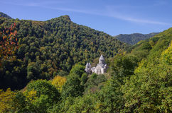 The ancient Haghartsin monastery is located near the town of Dil Stock Image