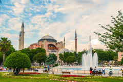 Ancient Hagia Sophia Exterior Royalty Free Stock Photo