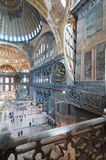 Ancient Hagia Sophia interior Royalty Free Stock Photo
