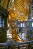 Ancient Hagia Sophia interior Stock Photo