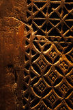 An ancient hand carved door from Arabia Royalty Free Stock Image