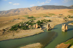 Ancient Hasankeyf Stock Photo