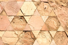 Ancient Hebrew Christian Background With Magen David. Royalty Free Stock Photo