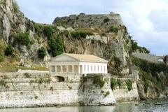 Ancient Hellenic temple, Corfu Stock Image