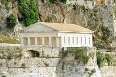 Ancient Hellenic temple, Corfu Stock Photo