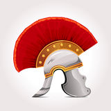 Ancient Helmet. Vector color roman helmet illustration Royalty Free Stock Photography