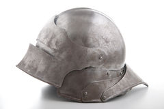 Ancient helmet from the medieval Stock Images