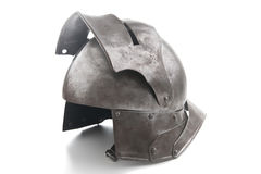 Ancient helmet from the medieval Royalty Free Stock Images