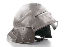 Ancient helmet from the medieval Royalty Free Stock Image