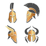 Ancient helmets Royalty Free Stock Photo